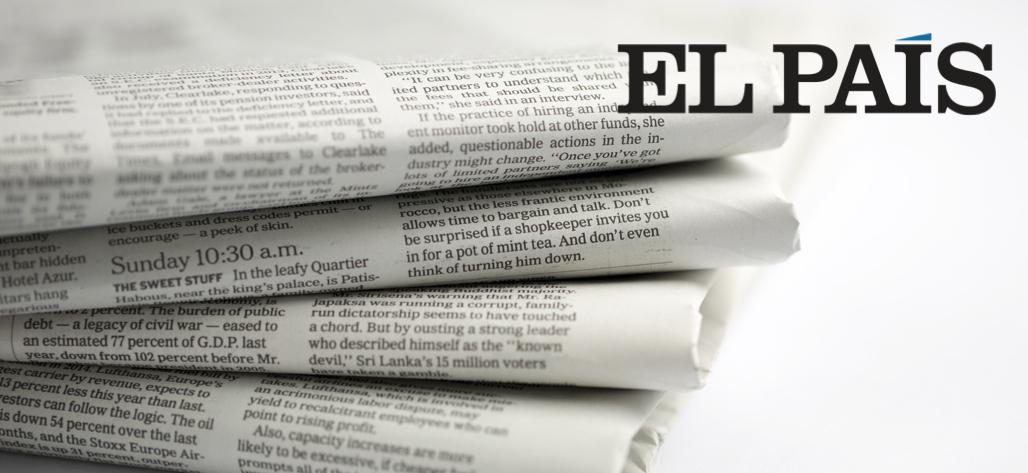 Gesternova en El País