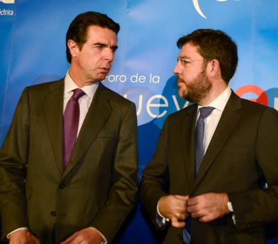Jose Manuel Soria Y Alberto Nadal