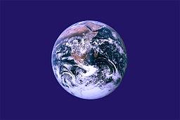 Bandera Tierra John McConnell Asociada Al Día De La Tierra