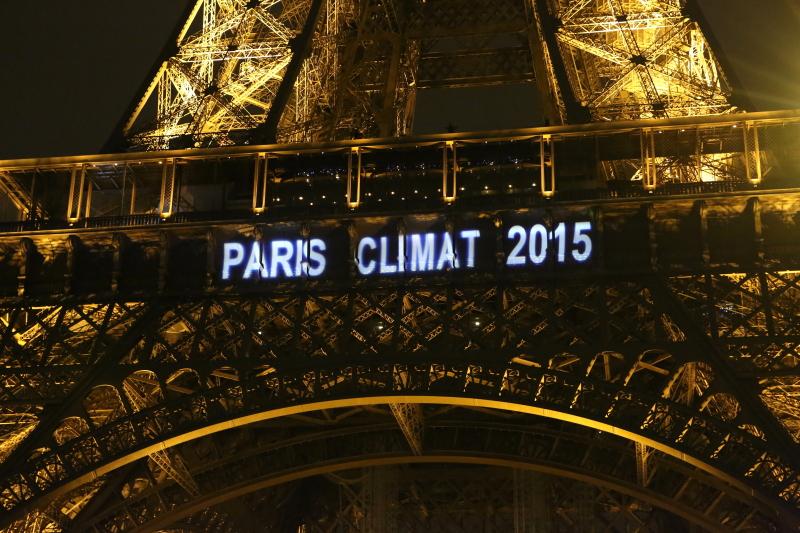 Torre Eiffel 2015 COP21