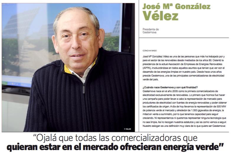 Entrevista J.M. Vélez