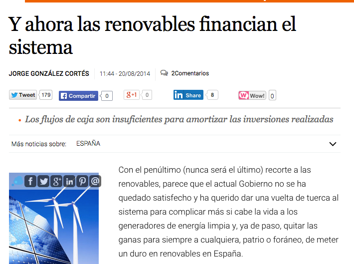 renovables financian sistema