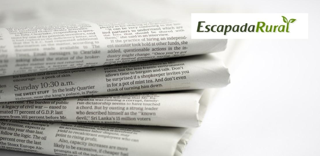 Escapada Rural, Gesternova En Los Medios