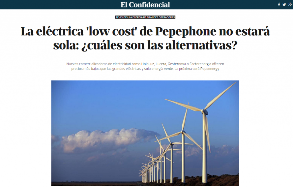 alternativas a electricas