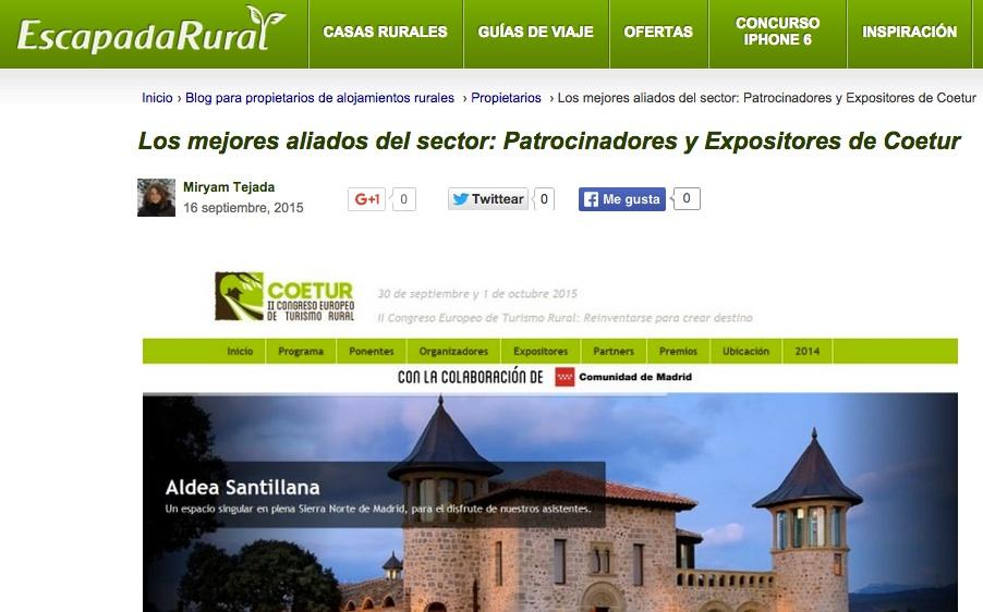Gesternova apoya el turismo rural