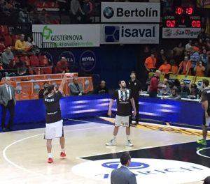 Gesternova, con el Valencia Basket, solokilovatioverdes