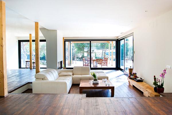 la casa de madera más grande de España localizada en Torrelodones