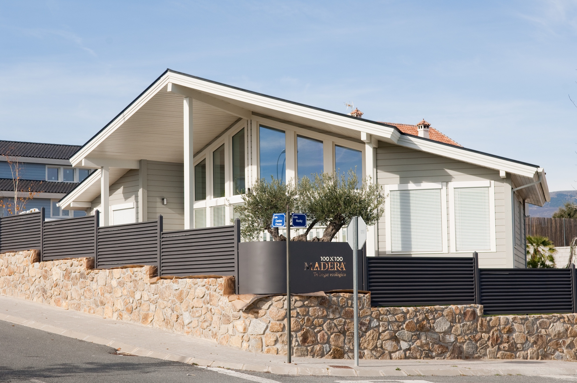100x100 Madera Trabaja Construye Casas Eficientes Energéticamente Cuidando Al Medio Ambiente