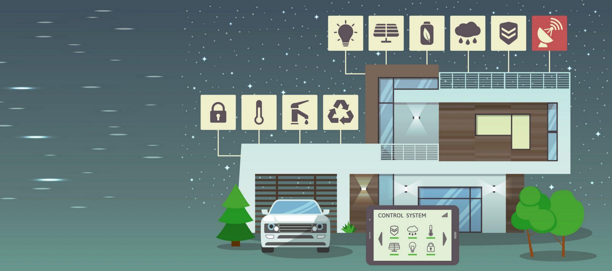 Hogar Inteligente Con Energía Solar Y Coche Eléctrico