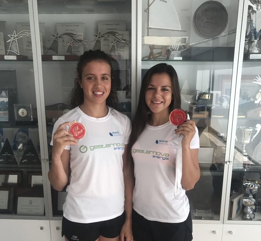 Gesternova patrocinada a dos promesas de la vela olímpica